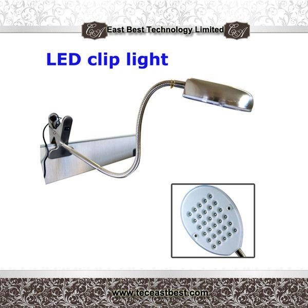 Portable LED Clip Desk Lamp