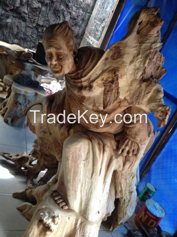 Beautiful Hand Made Wood Sculpture