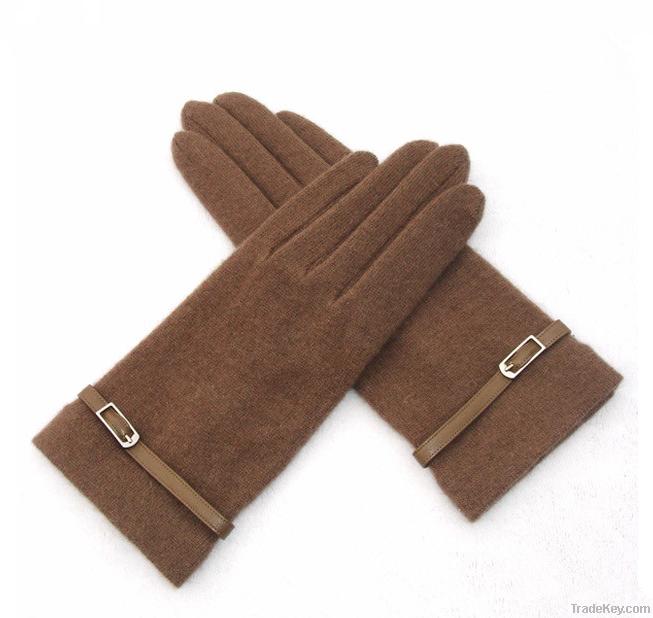 women's cashmere gloves with pimp