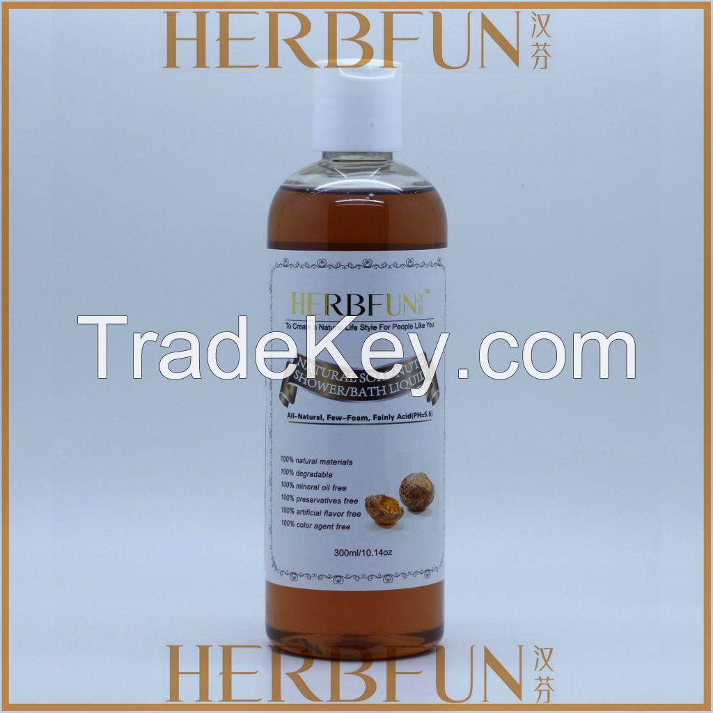 100% natural origin shower gel for sensitive peope and dry skin