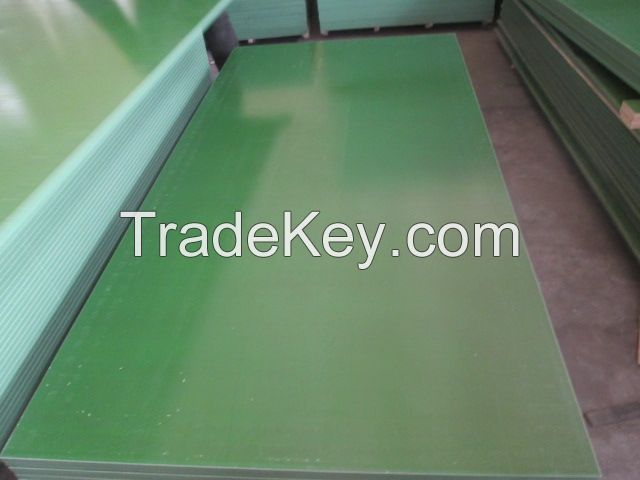 PP Plastic /brown /black film faced plywood for formwork,construction ,marine plywood