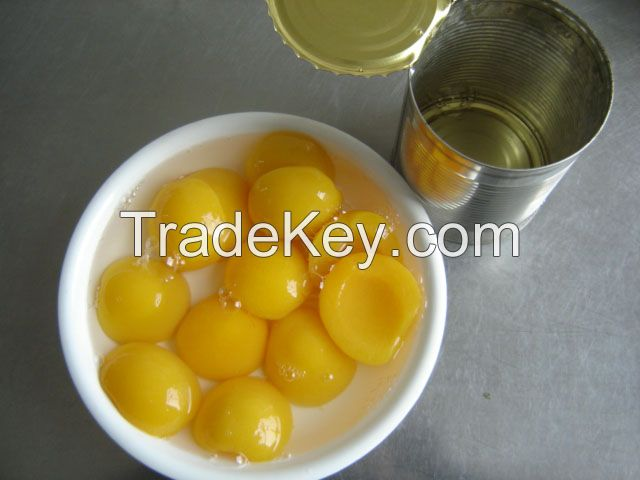 canned yellow peach 3000g