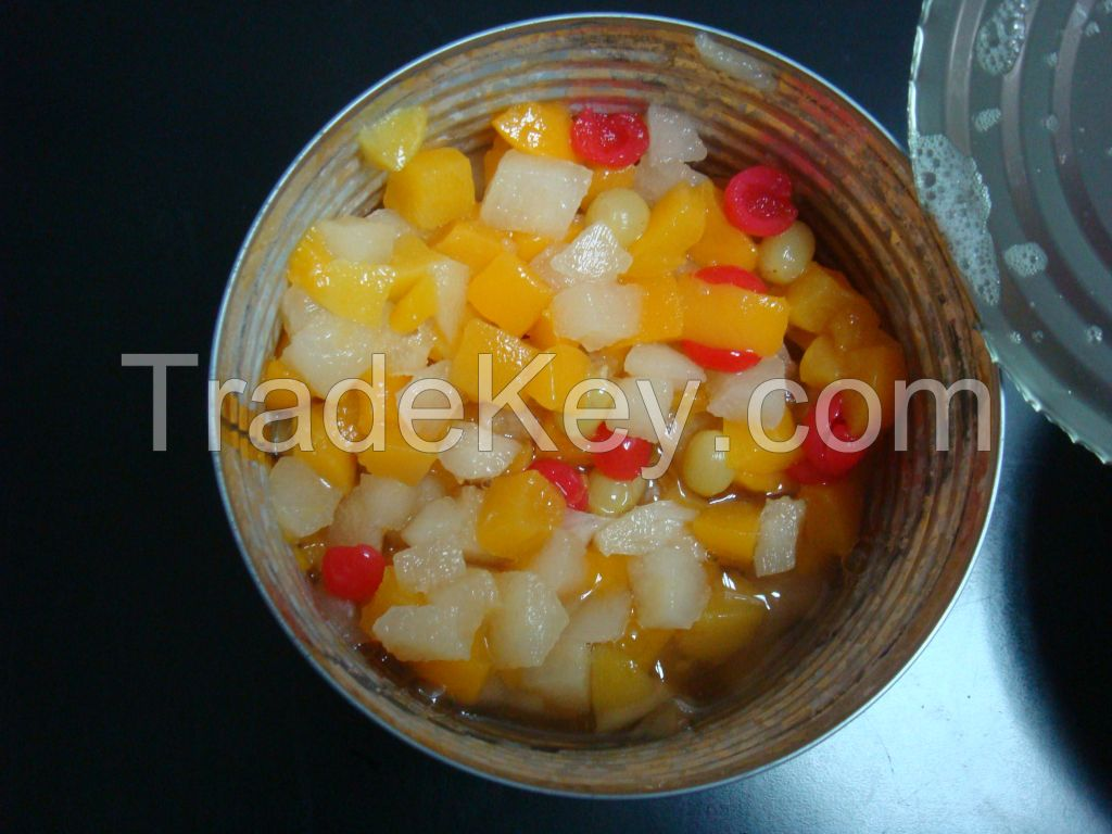 canned fruit cocktail with high quality and best price