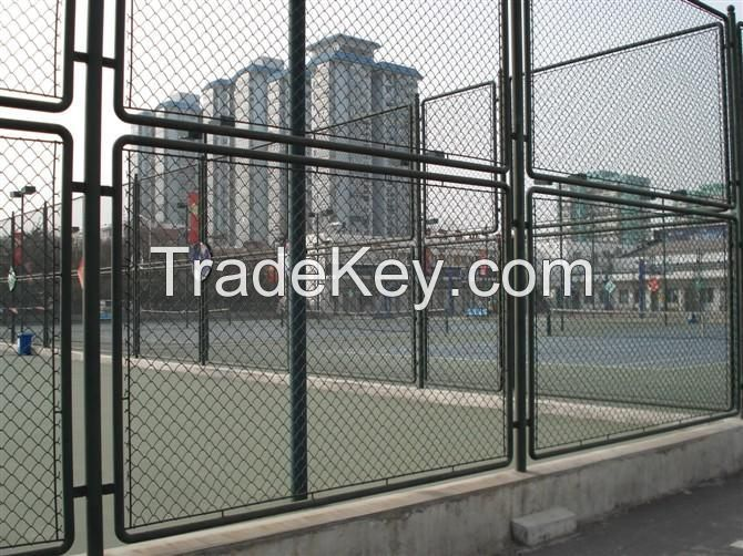 playground fence, garden fence, building fence, resisfence fence, airport fence