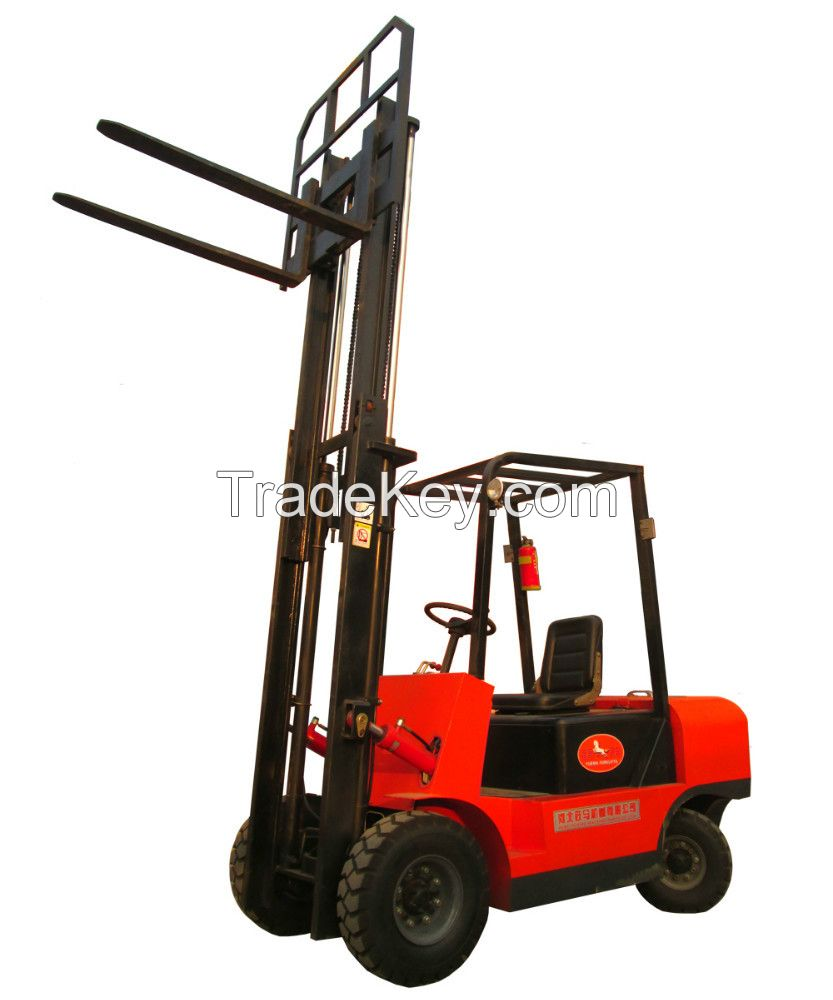 1.5T Electric forklifts for lifting 3m/1.6m