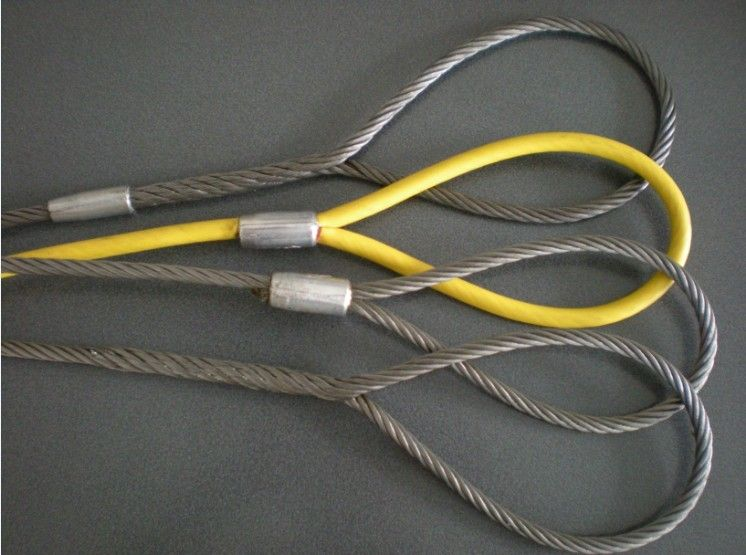 Stainless steel wire rope lifting sling
