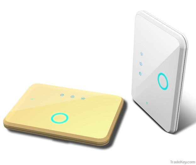 Security Alarm System, Temperature Control and Relay Signal Output, GSM/SMS/App for Android and iOS