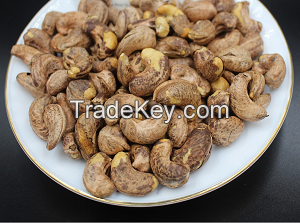 Roasted cashew nut in husk