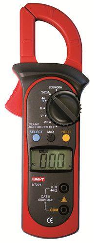 400-600A Hot sale  low price digital clamp meter UT203  UT204 UT204A skype:shava.rainbowwpc