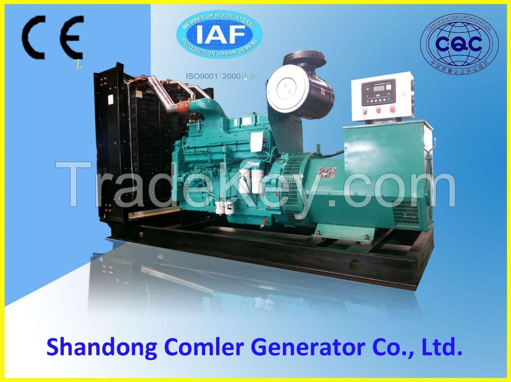 500kw cummins powered silent type generator
