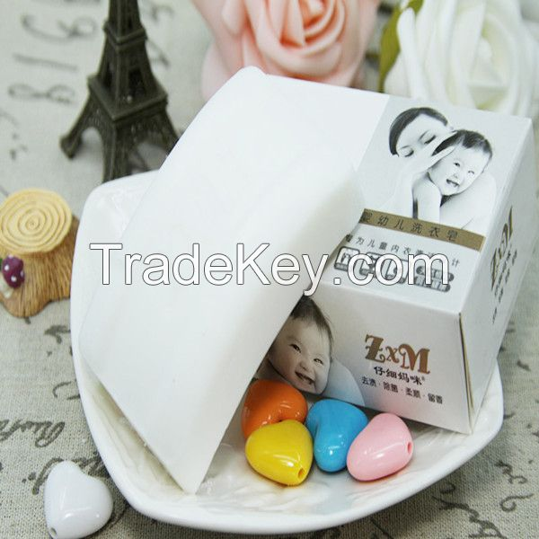 Solid Form Skin Whitening Bath Soap for Babies