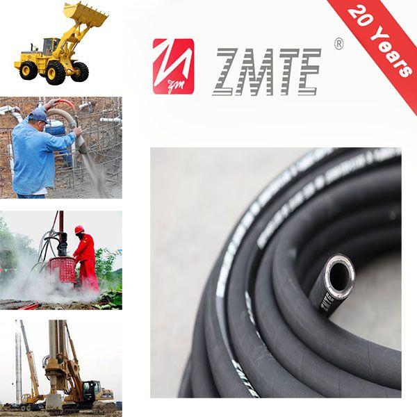Hydraulic Rubber Hose Assembly EN856 4SP
