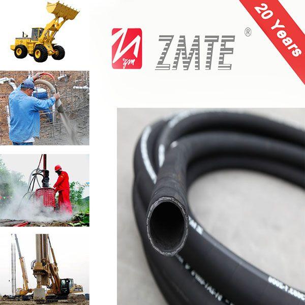 High Pressure Steel Wire Braided Hydraulic Hose SAE100R2AT / EN853 2SN
