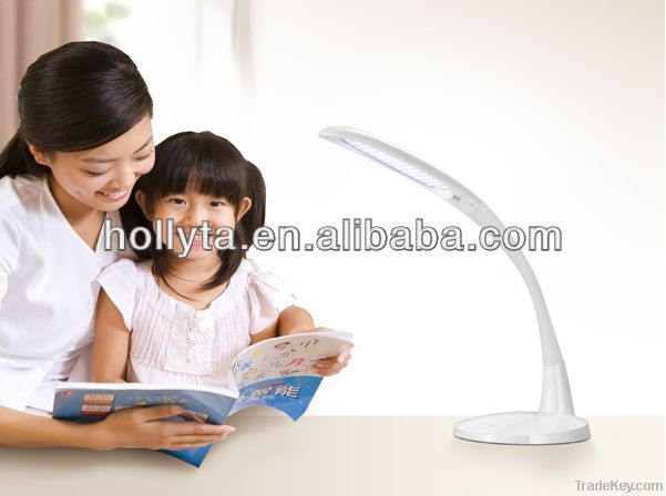 Folding and touching led desk lamp