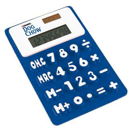 8 digit pocke calculator silicone calculator