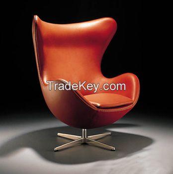 modern chair/Arne Jacobsen Egg chair/YXL-DX