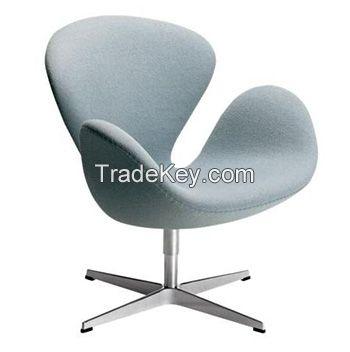 Arne Jacobsen Swan Chair in cashmere fabric/YXL-TE