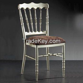 Wood Versailles Chair, silver color, hot sale 2years warranty /YXZJ-NMY