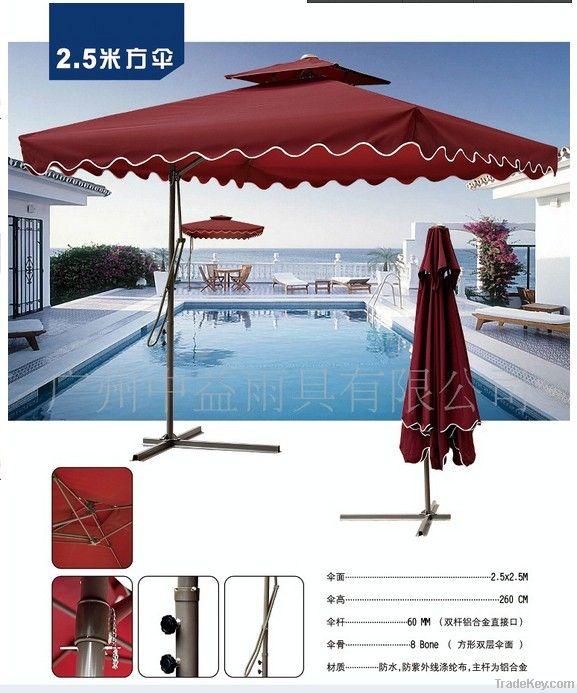 Promotional Multi-color garden umbrella