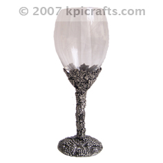 Pewter Goblet - Metal Crafts - Pewter Gifts