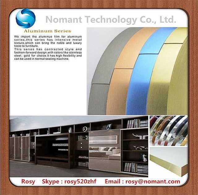 PVC edge banding for furniture making made in china