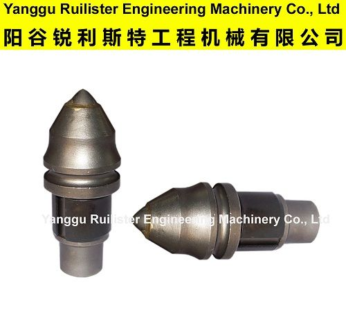 Piling Tools B47K19H, Foundation Drilling Tools, Round Shank Chisel Bits, Cutting Tools