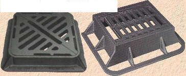 manhole cover, grating, bollard, casting