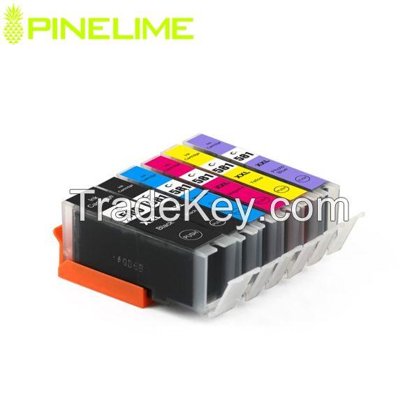 2018 Newly Arrival Compatible Ink Cartridge PGI 580 CLI 581 580xxl 581xxl for Europe Pixma TR7550/TR8550/TS6150/TS6151