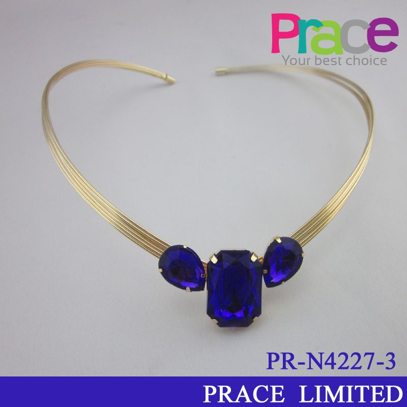 fashion new design cheap resin necklace for ladies