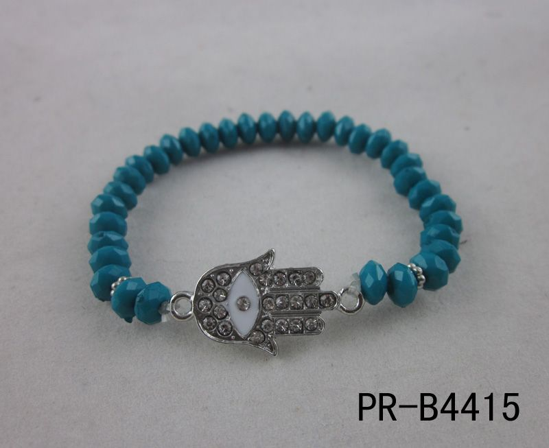 hand bracelet cheap fashion hot sale resin beads bracelet