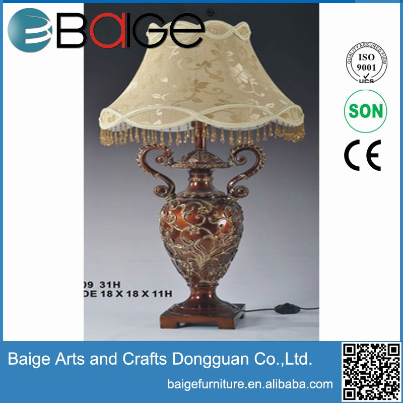 Good quality antique resin flower vase