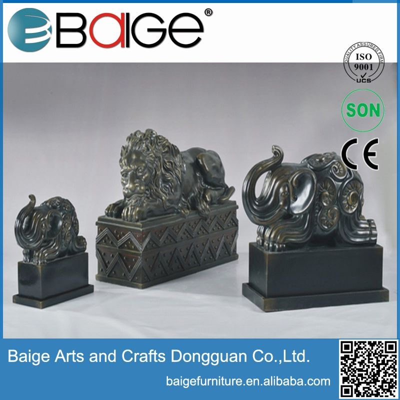 Good quality antique luxury resin arts and crafts