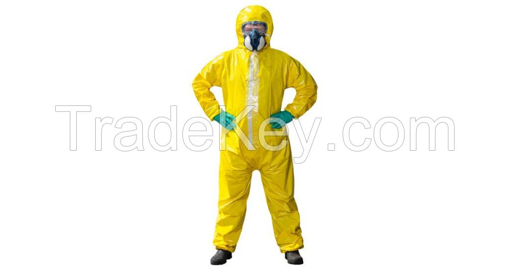 100PE04 Chemical Protective Overalls