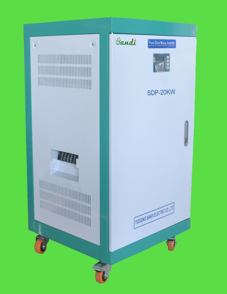 20KW 3 phase 380Vac off grid pure sine wave inverter with CE approved