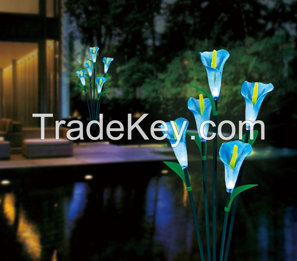 solar flower light