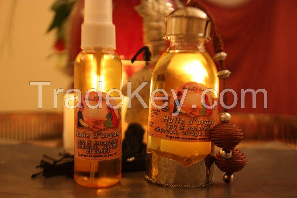 Pure Argan Oil, organic