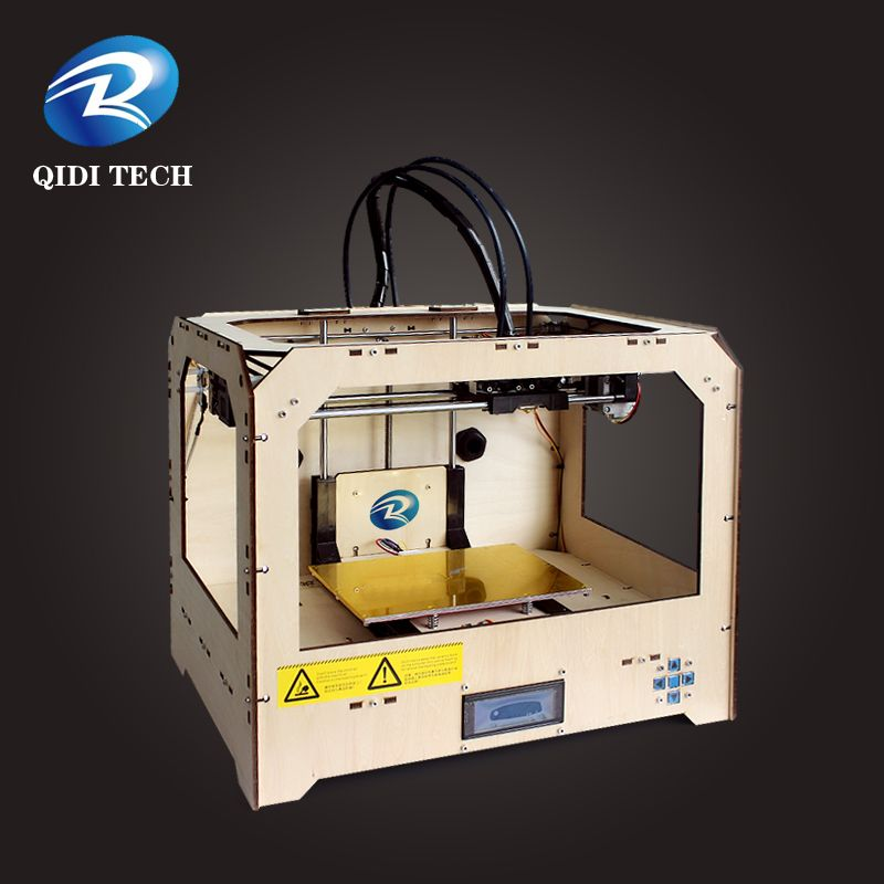 Dual extruder 3D printer machine made in china
