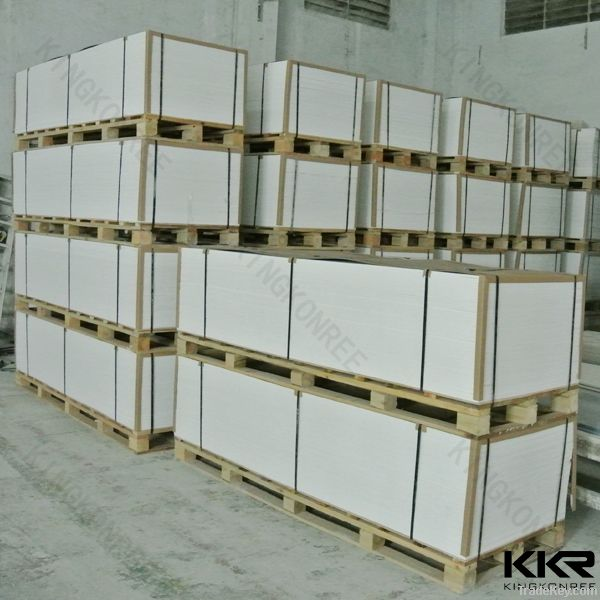 Wholesale pure white acrylic solid surface
