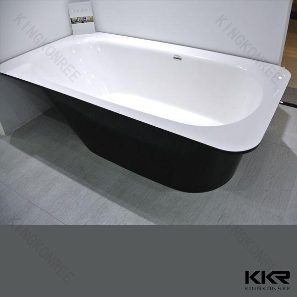 Wholesale supplier solid surface freestanding bathtub