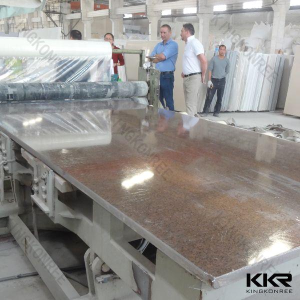 Wholesale engineered polished artificial quartz stone