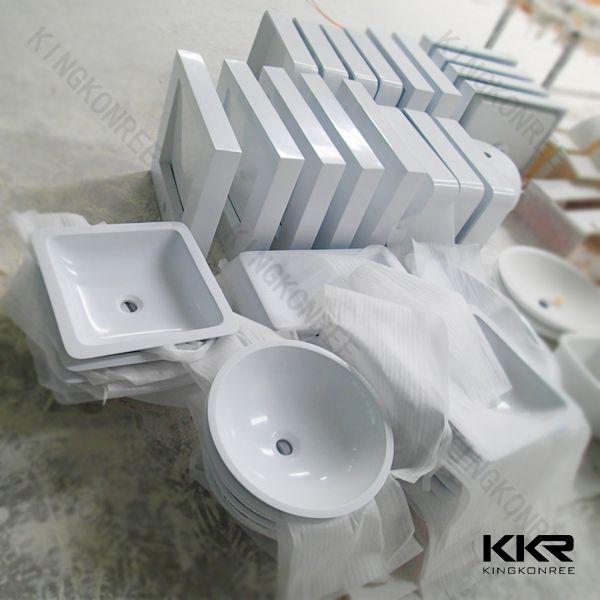Kingkonree wholesale bathroom sink , pedestal sink