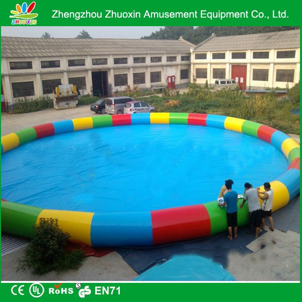 size can be customized 20m inflatable swimming pool for sale and any color for choose