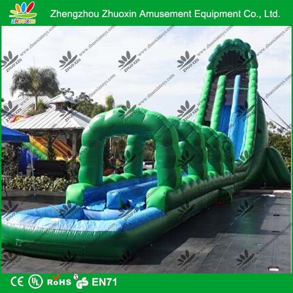 size and design customized united states popular use 95ft L 32ft W 36ft H inflatable water slide
