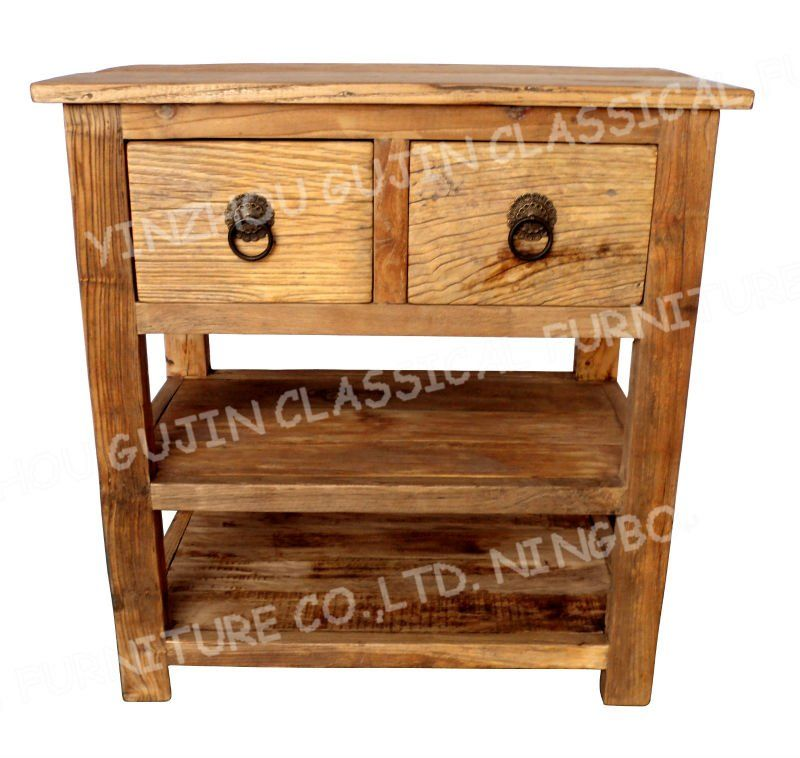 Vintage Furniture Recycle Console Table