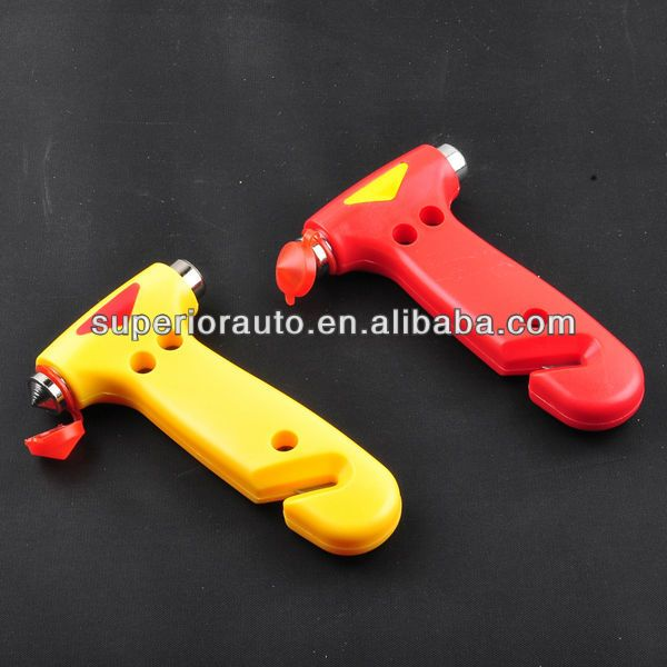 Car Escape Tool With Seat Belt Cutter