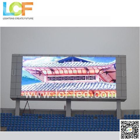 LCF P10 outdoor full color led display for advertising