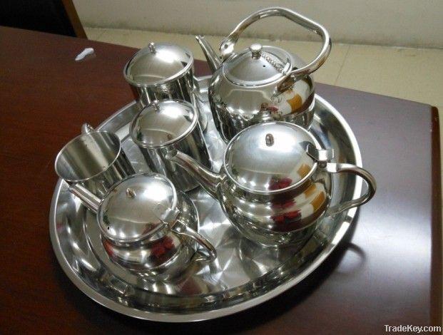 12pcs cookware set/stainless steel teapot