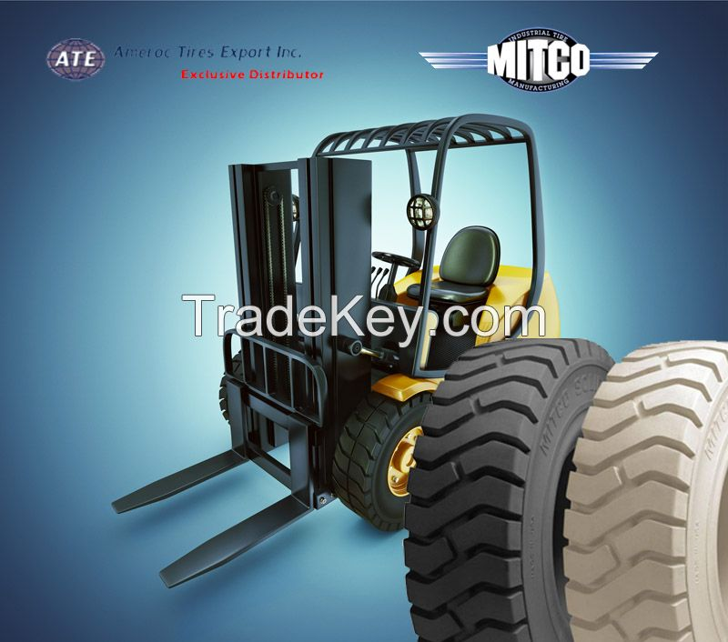 825*15 Non Marking Solid Solver Forklift Tyres/Tires  MADE IN USA *OTHER SIZES AVAILABLE AS WELL*