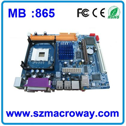 Factory Price DDR1 laptop motherboard 865