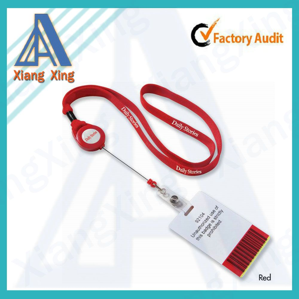 China wholesale new product retractable keychain lanyard trade for sale